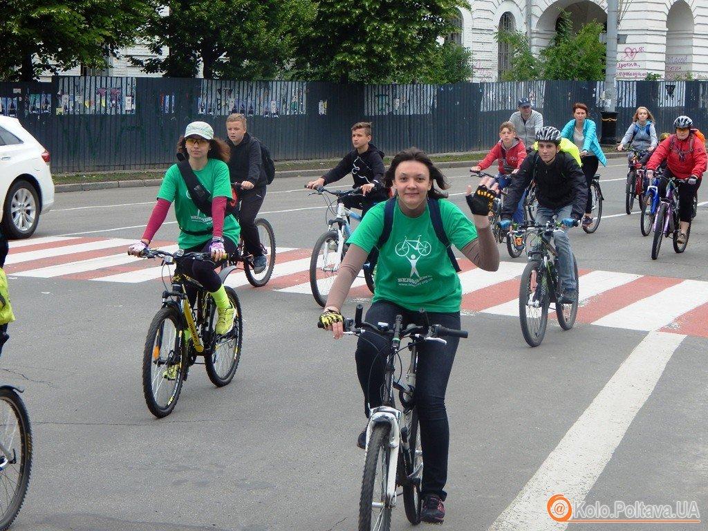 У Полтаві пройшов наймасштабніший Велодень (фото)