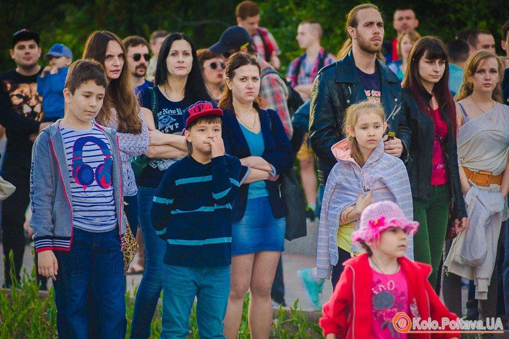 У Полтаві пройшов фолк рок концерт під відкритим небом