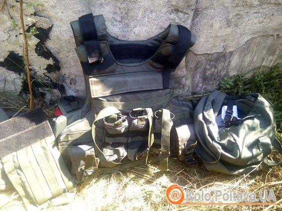 На Полтавщині міліціонери знайшли сховище боєприпасів із зони АТО