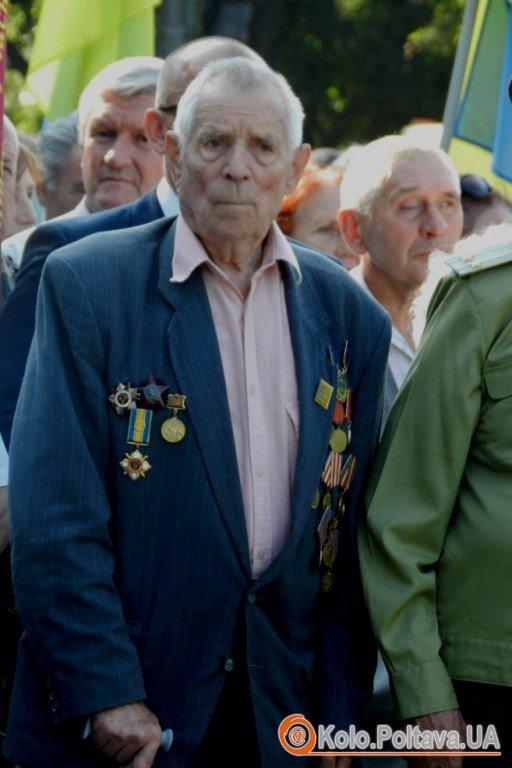 У Полтаві вперше відзначили закінчення Другої Світової війни (фото)