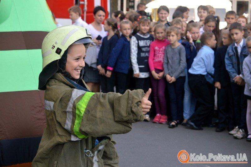 Полтавські рятувальники влаштували конкурси для дітей