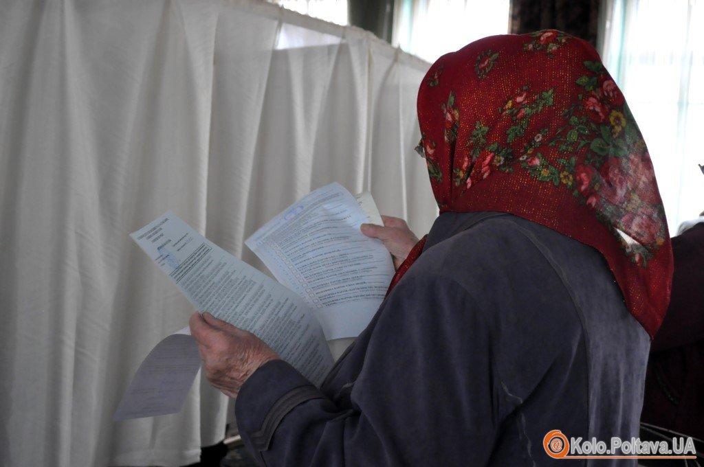 Полтавці не поспішають на голосування ранковий репортаж (ФОТО, ВІДЕО)