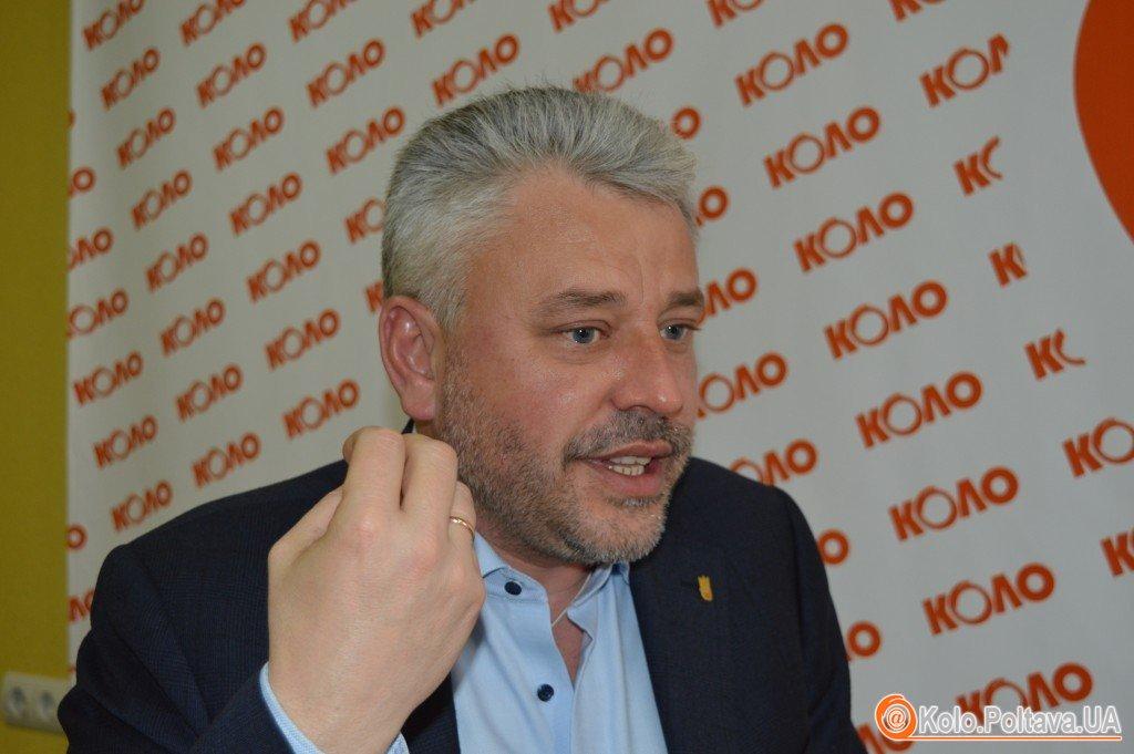 Юрій Бублик про одного з кандидатів на крісло мера Полтави: «Це – відвертий українофоб».
