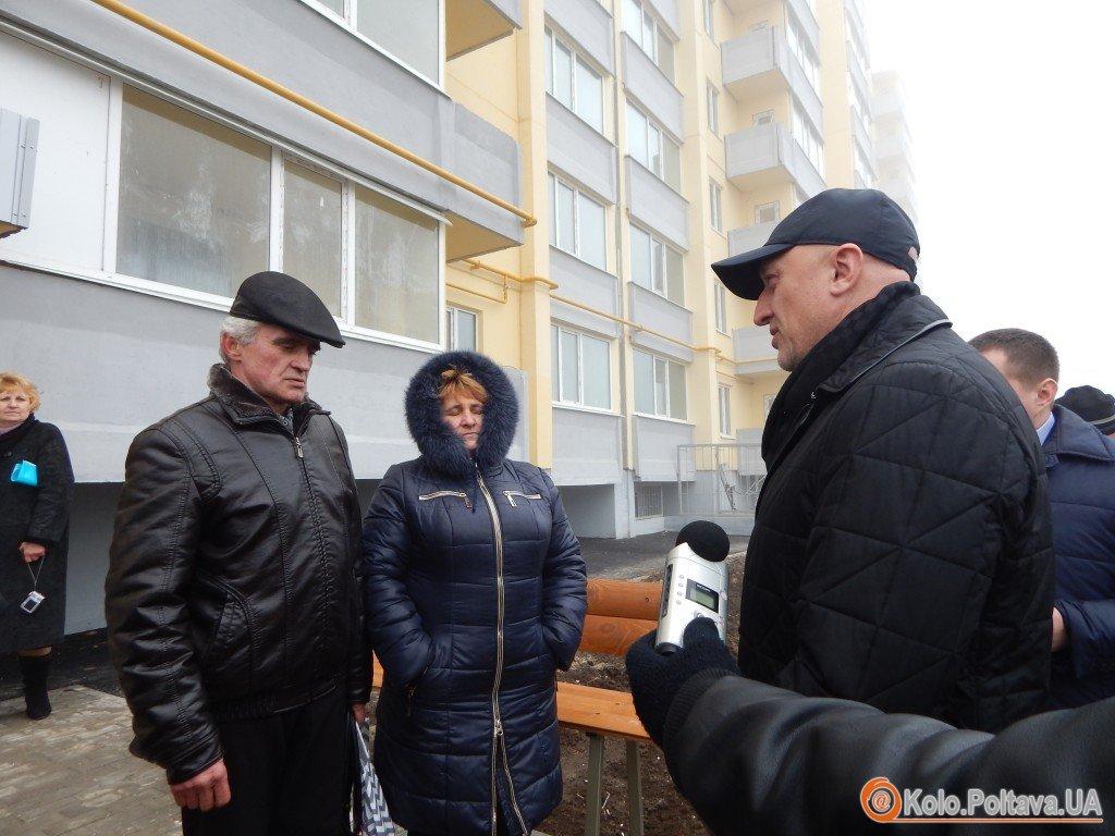 Сім'ям полтавців загиблих в зоні АТО вручили ключі від квартир