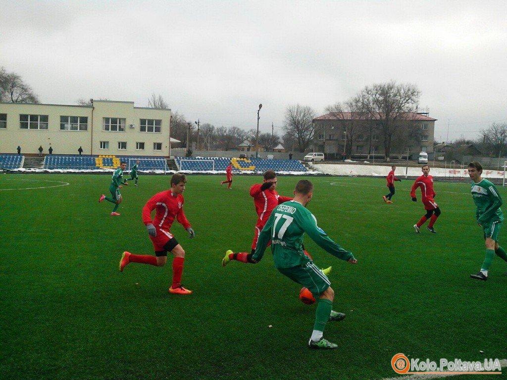 Молодіжний склад «Ворскли» здолав «Кривбас»