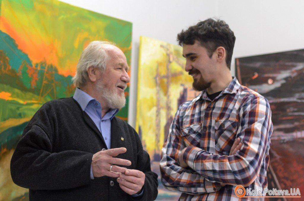 Самойленко Юрій Олексійович (зліва) та Маркар'ян Вартан Володимирович