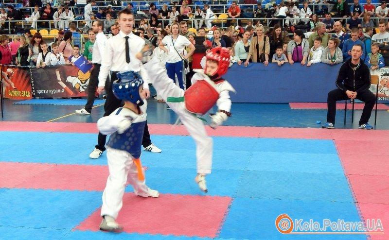 У Полтаві пройшов Всеукраїнський турнір з тхеквондо