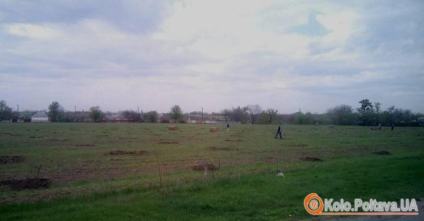 На околиці Полтави з'явився молодий садок