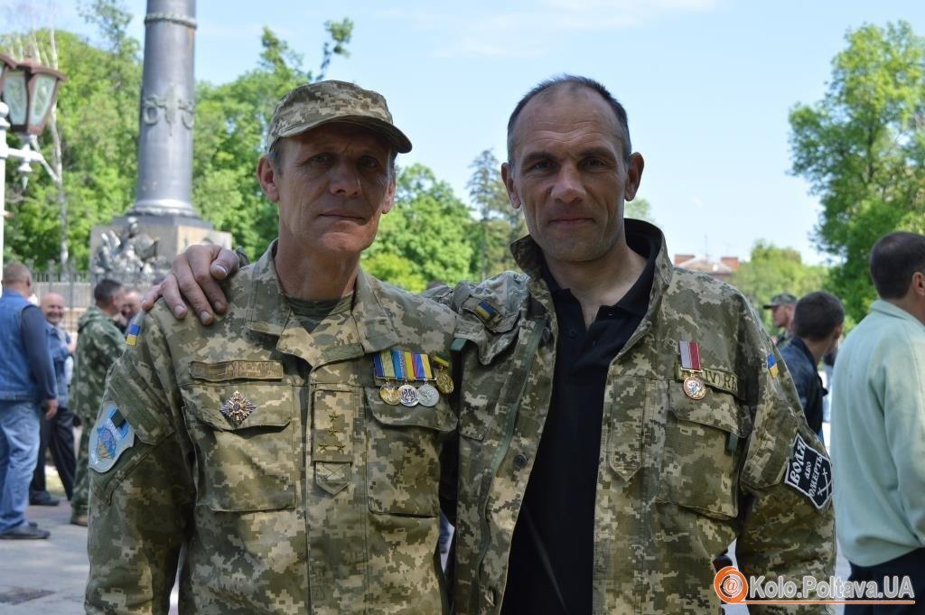 Бійці 16 ОМПБ зібралися на зустріч у річницю створення батальйону