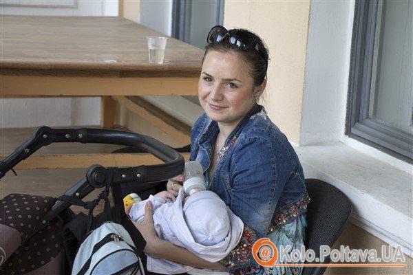 Сестра майстрині Овсяницька Наталія з сином Максом