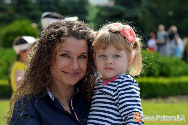 У Полтаві вирує дитяче свято (фоторепортаж)
