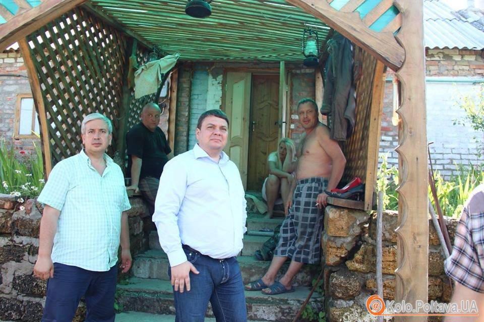 На Полтавщині продовжують боротись із наслідками стихії