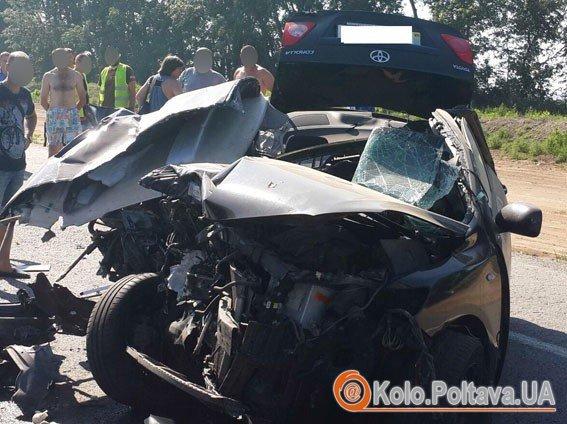 На Полтавщині у ДТП загинули двоє