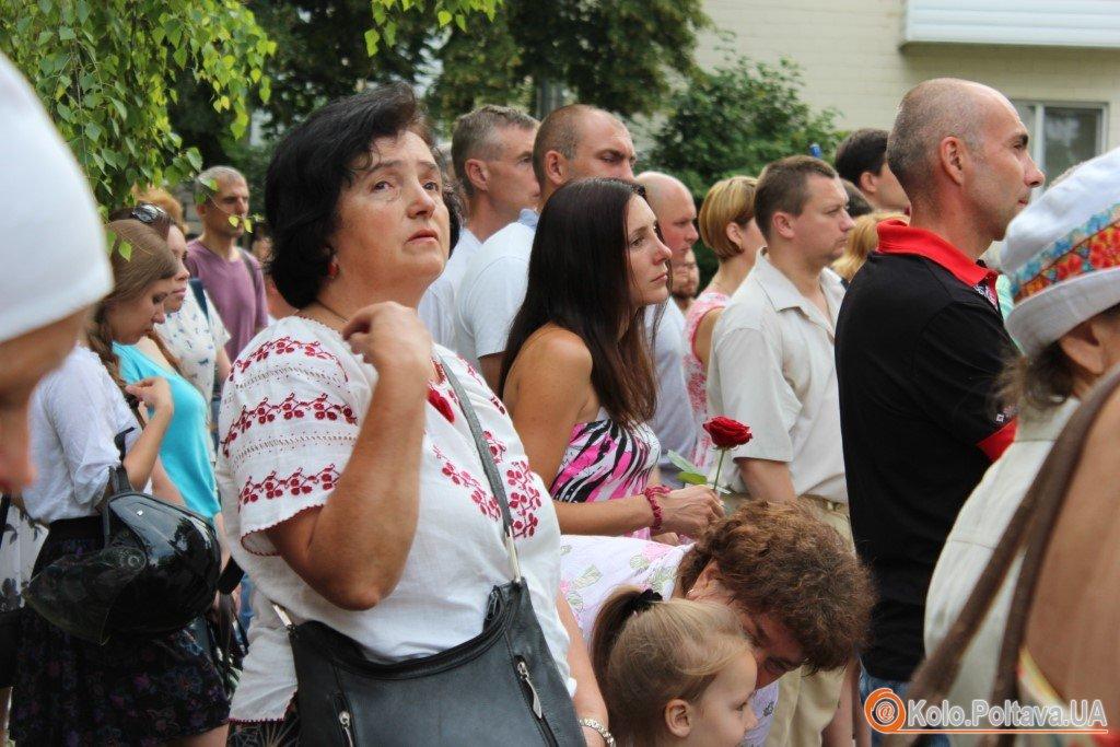 У Полтаві помолились за Україну (ФОТО)