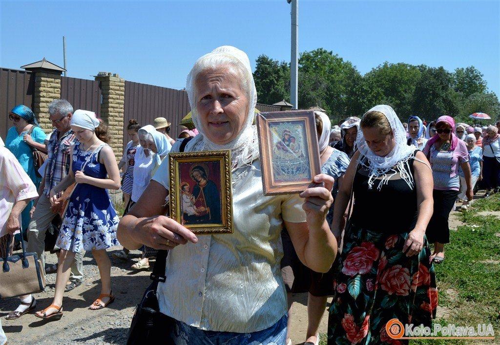 Ходоки з Донбасу приєдналися до ходи Московського патріархату в Полтаві (ФОТО)