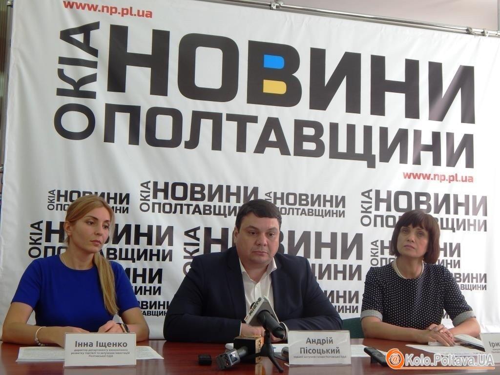 15 % сільських територій на Полтавщині об'єднані в громади