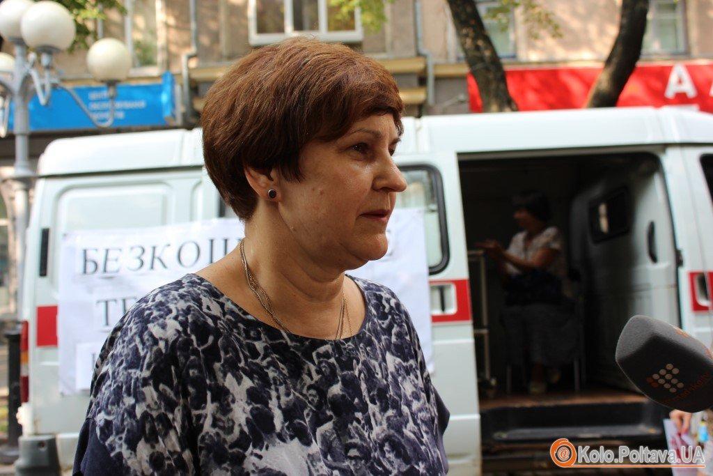 У Полтаві безкоштовно тестували на гепатит С (ФОТО)