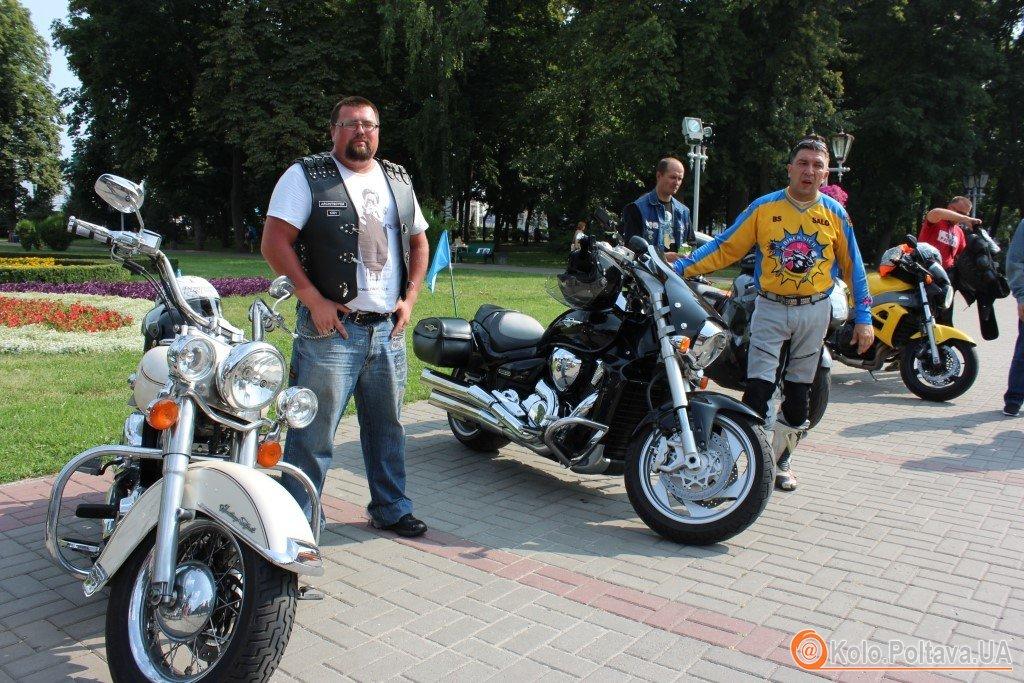 Через Полтаву проїхав Мотопробіг єдності України та Криму (ФОТО)