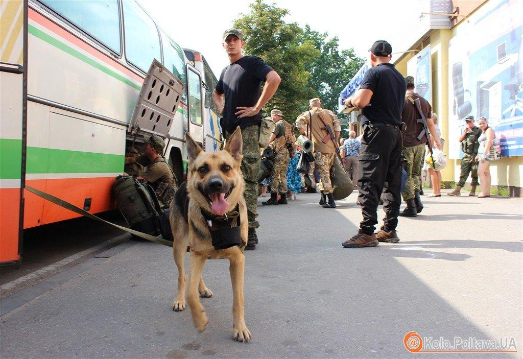 У батальйоні спецпризначення Полтава розпочалася ротація (ФОТО)