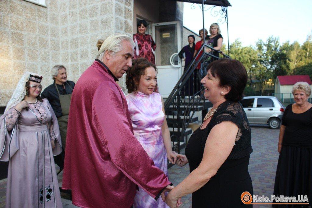 На виставу гоголівців завітав Посол Грузії