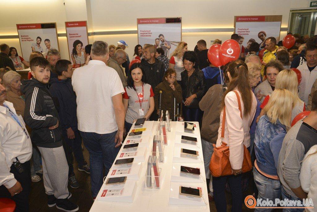 В Полтаві відкрився перший магазин Vodafone