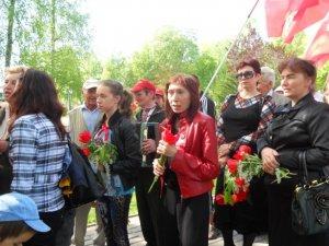 """Полтавські комуністи на першторавневому параді співали """"Катюшу"""""""