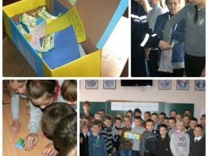 Фото: Рятувальники і школярі у Полтаві створили «Скриньку добра» для бійців АТО