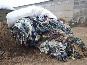 Фото: За два місяці полтавки сплели сотні метрів маскувальних сіток