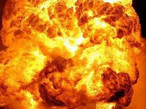 В Полтаве взорвался грузовик с боеприпасами (обновлено, фото)