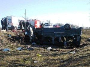 Фото: Водія вантажівки, яка зіштовхнулася з мікроавтобусом, судитимуть за загибель 10 полтавців